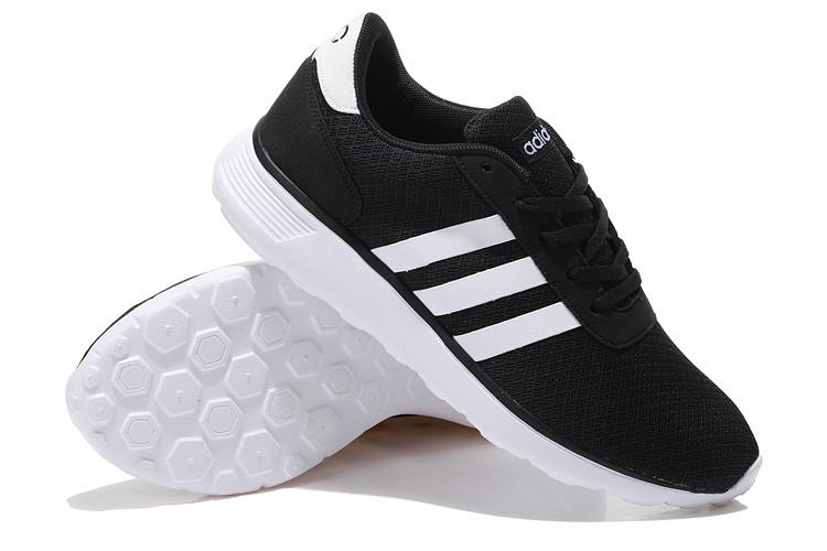 Men\'s/Women\'s Adidas NEO Lite Racer Shoes Core Black/Running White F97999