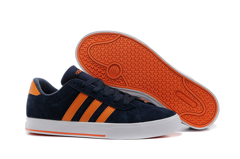 Men'sWomen's Adidas NEO SE Daily Vulc Suede Shoes New Navy