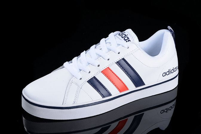 Men's/Women's Adidas Neo Pace VS Low Shoes White/Navy/Orange