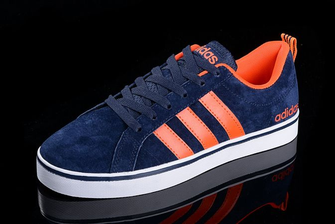 Men's/Women's Adidas Neo Pace VS Low Shoes Navy/Orange F98361