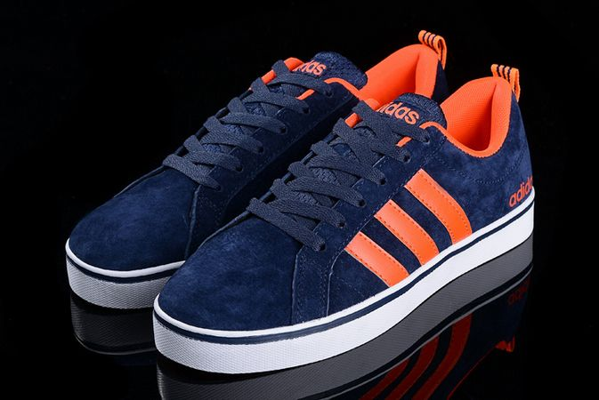 Men\'s/Women\'s Adidas Neo Pace VS Low Shoes Navy/Orange F98361