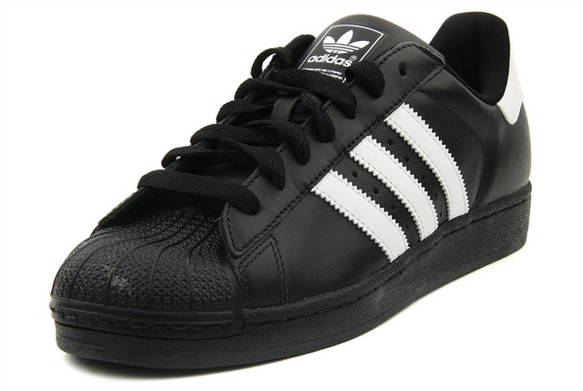 Men\'s/Women\'s Adidas Originals Superstar Foundation Shoes Core Black B27140