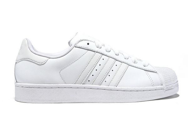 Men's/Women's Adidas Originals Superstar II Shoes Running White Ftw/Running White/Running White G17071