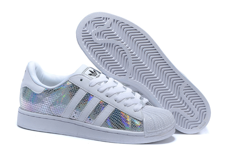 Men's/Women's Adidas Originals Superstar II Shoes White/Multicolor M20904