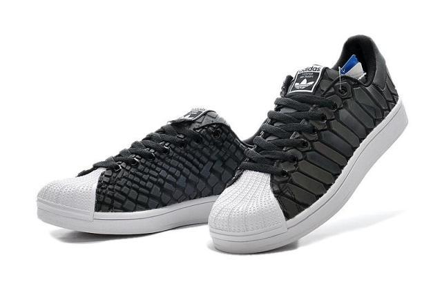 Men\'s Adidas Originals Superstar Shoes Core Black/Black/Running White Ftw D69366