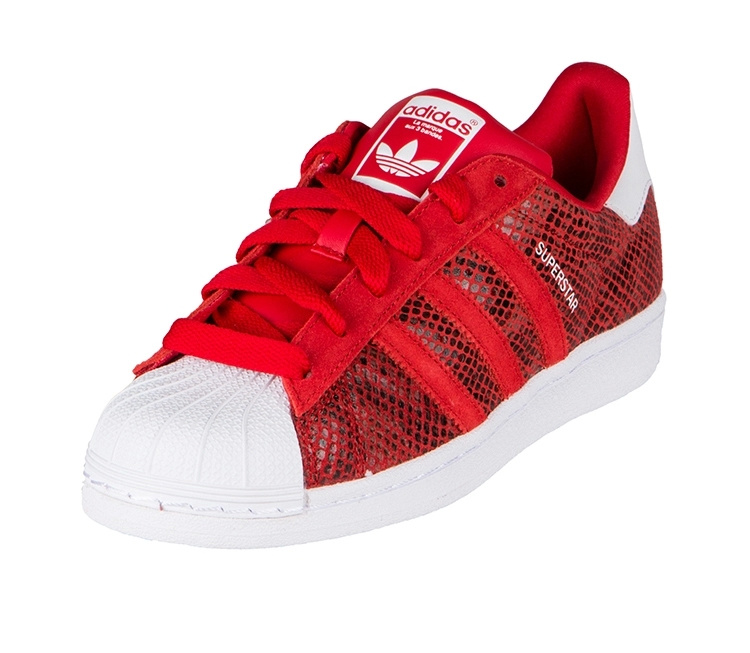 Women's Adidas Originals Superstar W Casual Shoes University Red/Running White B35794