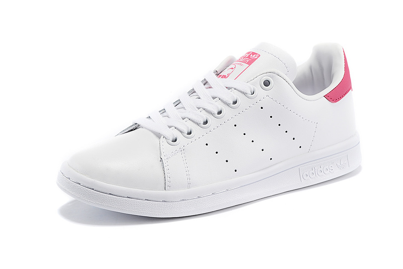Men's/Women's Adidas Originals Stan Smith Shoes White/Red D67363