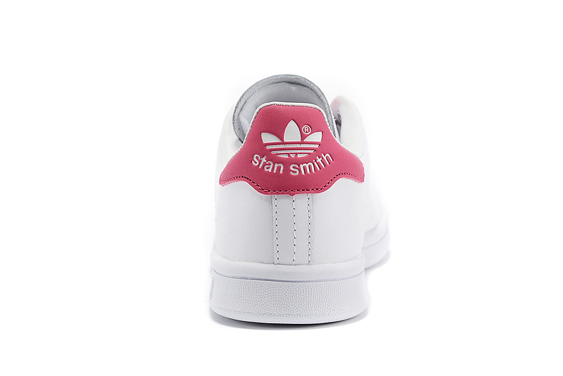 Men\'s/Women\'s Adidas Originals Stan Smith Shoes White/Red D67363