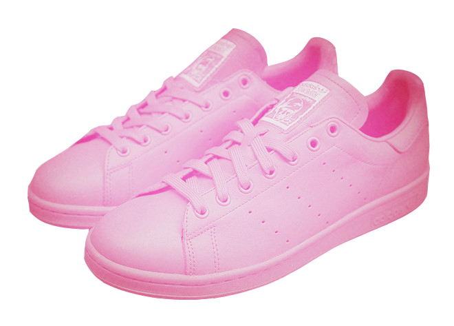 Women's Adidas Originals Stan Smith Shoes Pink B24037