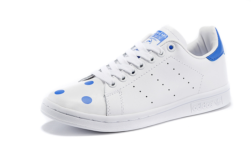 Men's/Women's Adidas Originals Stan Smith Shoes Running White/Blue D67360