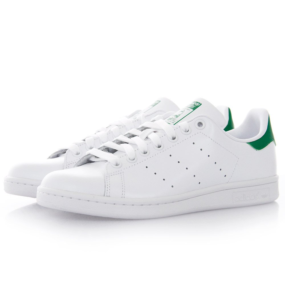Men\'s/Women\'s Adidas Originals Stan Smith Shoes Running White Ftw/Running White/Fairway D67361
