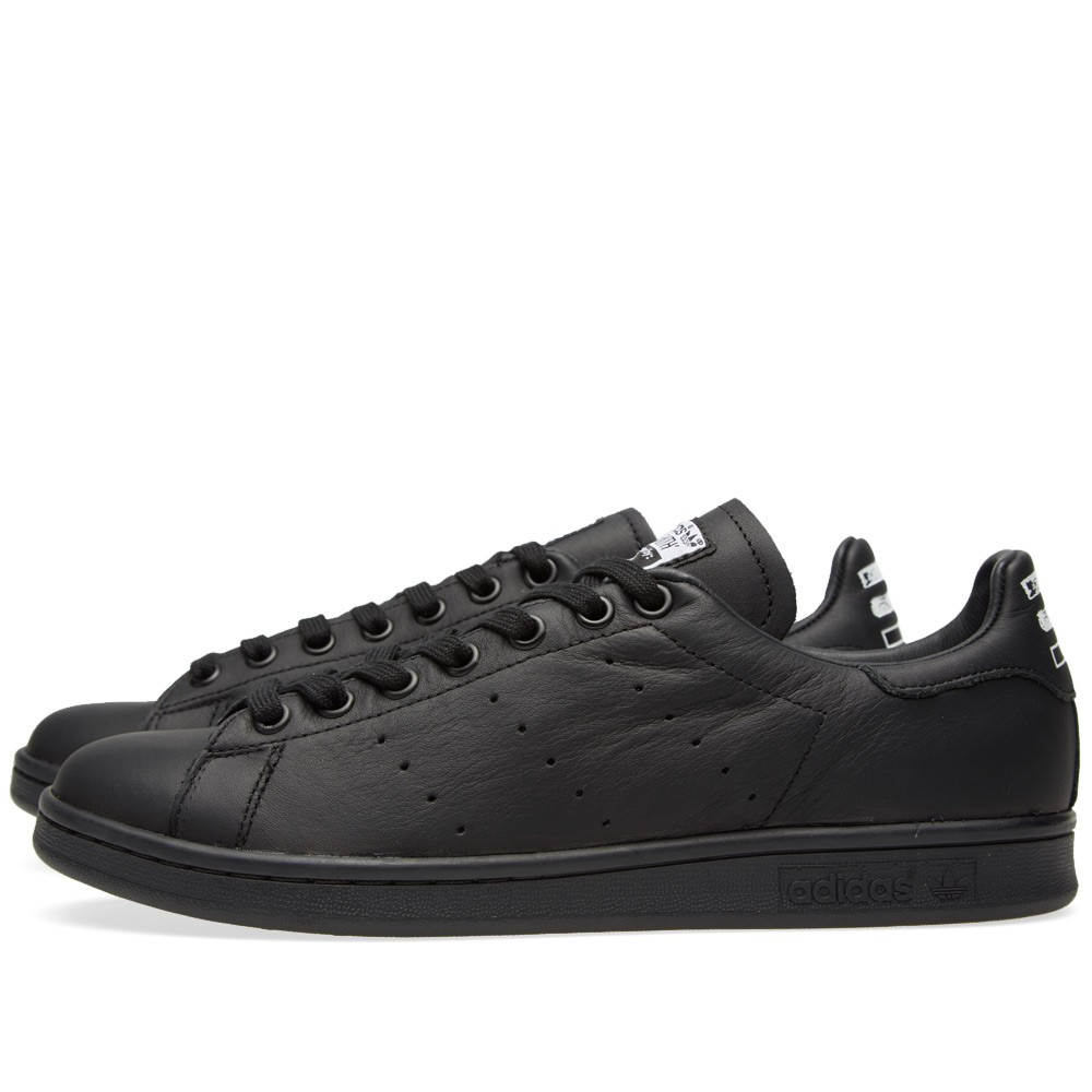 Men's/Women's Adidas Originals Pharrell Williams Stan Smith Tennis Shoes Core Black/Core Black/Ftw B25387