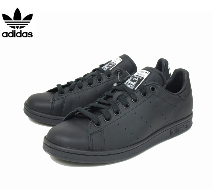 Men\'s/Women\'s Adidas Originals Pharrell Williams Stan Smith Tennis Shoes Core Black/Core Black/Ftw B25387