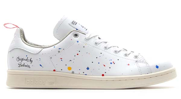 Men's/Women's Adidas Originals BW Stan Smith Shoes Running White/Chalk/Running White D65674