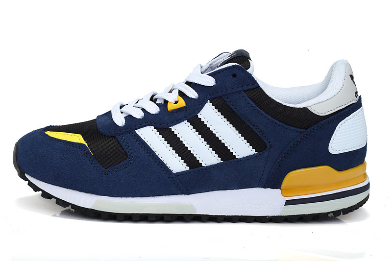 Men\'s/Women\'s Adidas Originals ZX 700 Shoes Legend Ink/Black/Bliss Q23444