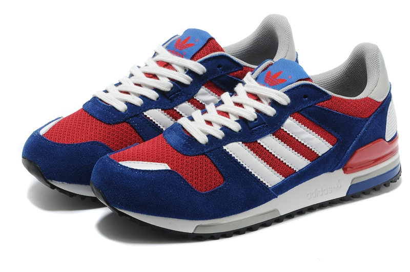 Men's/Women's Adidas Originals ZX 700 Shoes Navy/Red/White