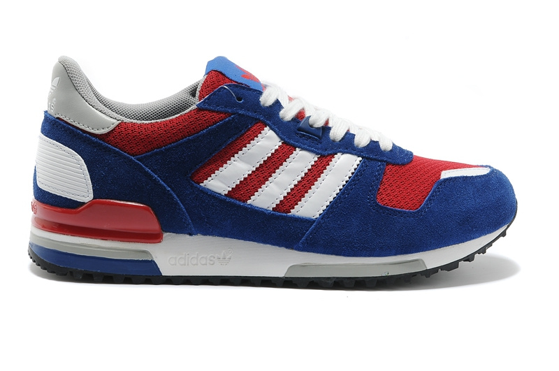 Men\'s/Women\'s Adidas Originals ZX 700 Shoes Navy/Red/White