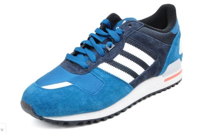 Men's Adidas Originals ZX 700 Shoes True Blue/White-Legened Ink D65644