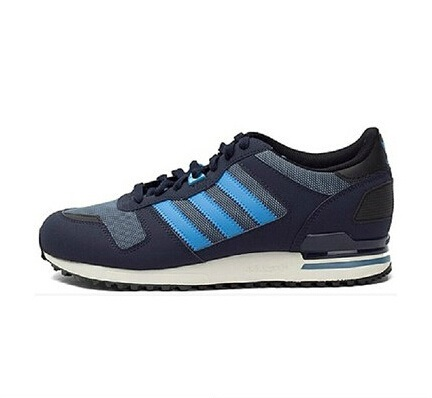 Men's Adidas Originals ZX 700 Shoes Stonewash Blue/Solar Blue/Collegiate Navy M18250