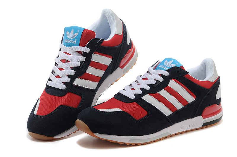 Men\'s Adidas Originals ZX 700 Shoes Navy Blue/Jade/Running White D96517