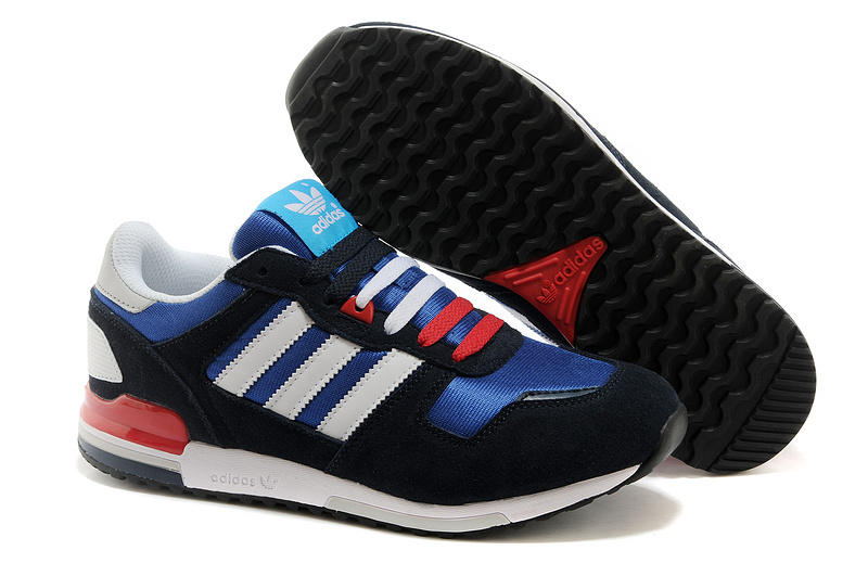 Men's Adidas Originals ZX 700 Shoes Aqua Blue/White