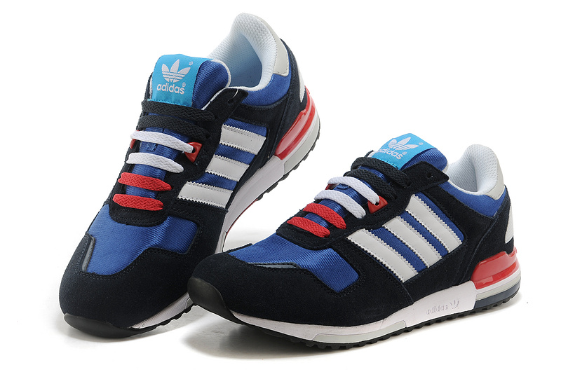 Men\'s Adidas Originals ZX 700 Shoes Aqua Blue/White