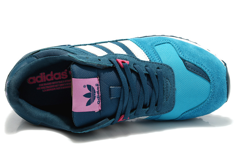 Women\'s Adidas Originals ZX 700 Shoes Triblue/Runwhite D65876