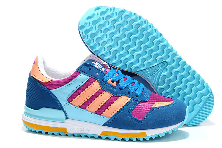 Women's Adidas Originals ZX 700 Shoes Joy Orchid/Glow Coral/Running White FTW D67718