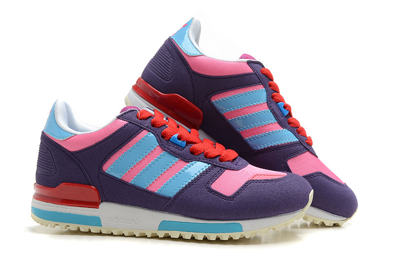 ec6dd3957 ... Women  s Adidas Originals ZX 700 Shoes Purple Light Blue Pink  ...