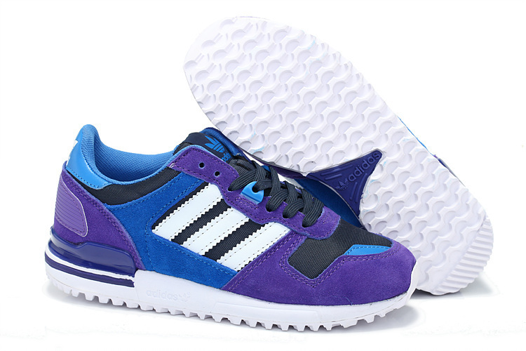 Women's Adidas Originals ZX 700 Shoes Blast Purple/Runwhite/Bluebird G95705