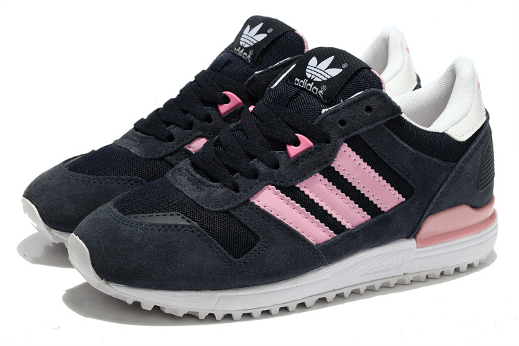 Women\'s Adidas Originals ZX 700 Shoes Legend Ink/St Tropic Bloom/Running White M22552