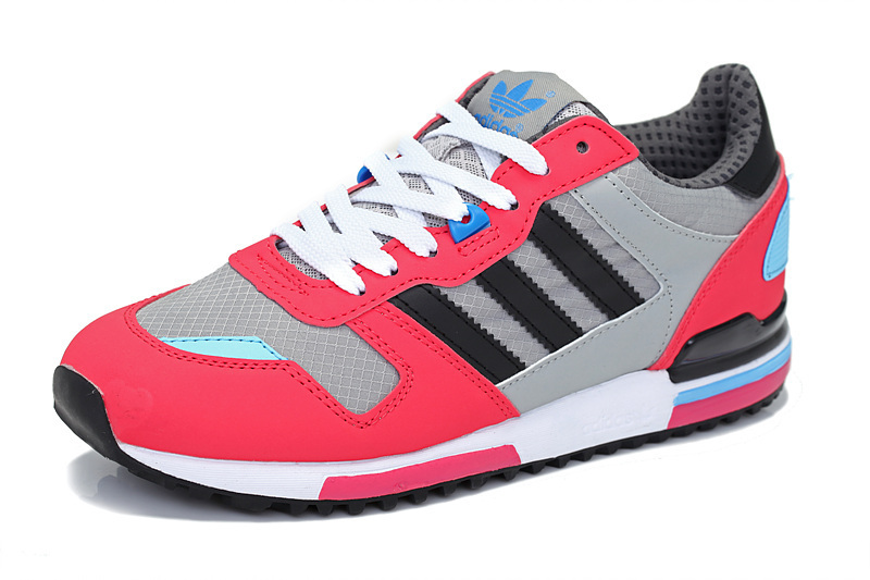 Women's Adidas Originals ZX 700 Shoes Black/Melon/Running White G98280