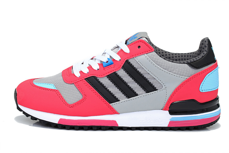 Women\'s Adidas Originals ZX 700 Shoes Black/Melon/Running White G98280