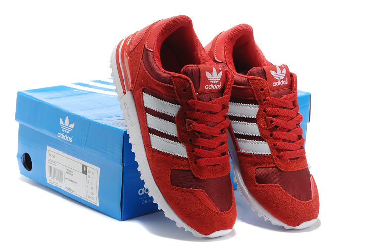 Women\'s Adidas Originals ZX 700 Shoes University Red/White