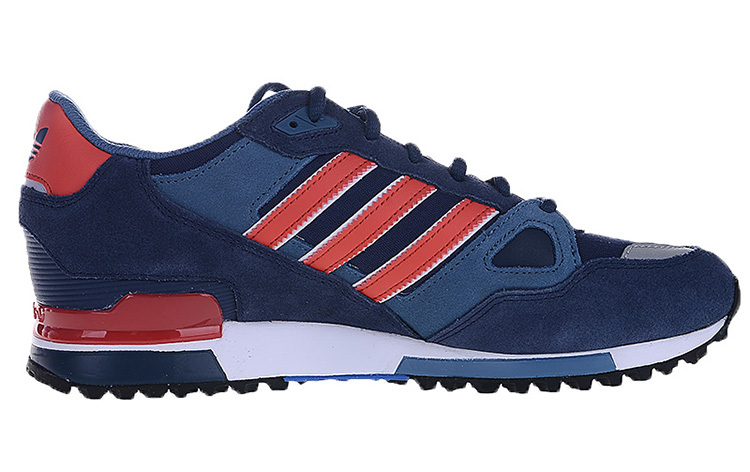 Men's/Women's Adidas Originals ZX 750 Shoes Collegiate Navy/Red/White M18260