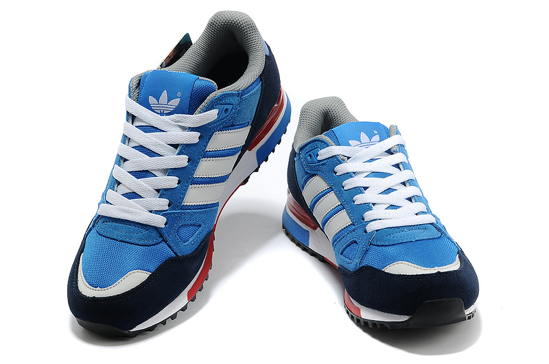 Men\'s/Women\'s Adidas Originals ZX 750 Shoes Bluebird/Running White Ftw/St Dark Slate G96718