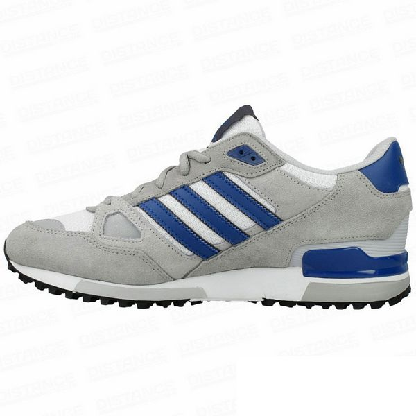 Men's Adidas Originals ZX 750 Shoes Grey/Navy B39988
