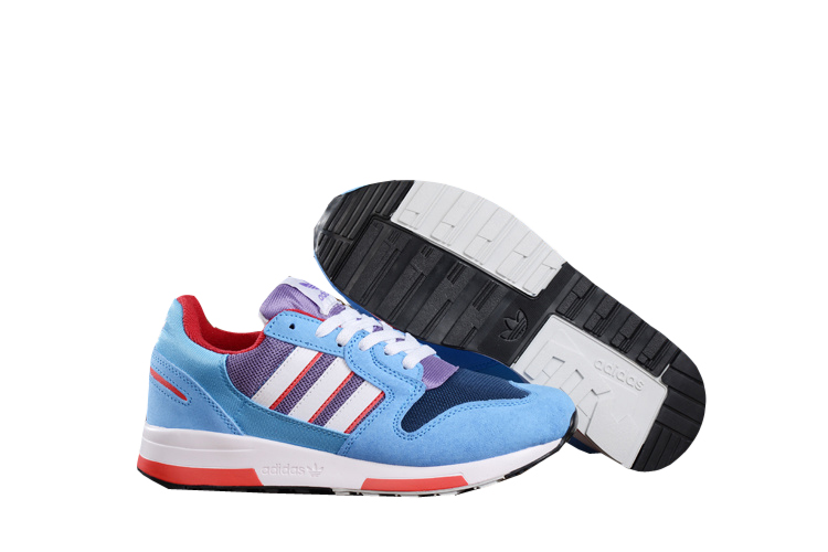 Men's Adidas Originals ZX 420 Shoes Sky Blue/Light Violet/Melon