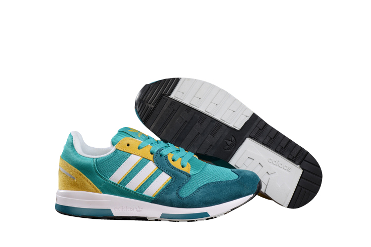 Men's Adidas Originals ZX 420 Shoes Sub Green/Matte Silver