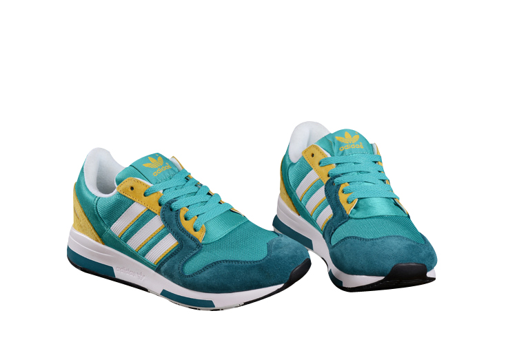 Men\'s Adidas Originals ZX 420 Shoes Sub Green/Matte Silver
