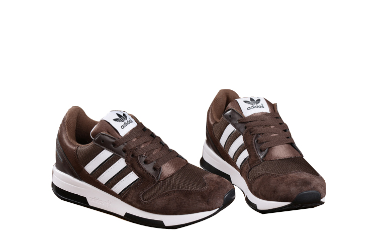 Men\'s Adidas Originals ZX 420 Shoes Brown/White
