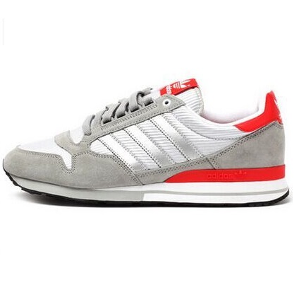 Men's Adidas Originals ZX 500 OG Shoes CH Sold Grey/Silver Met/Red B26167