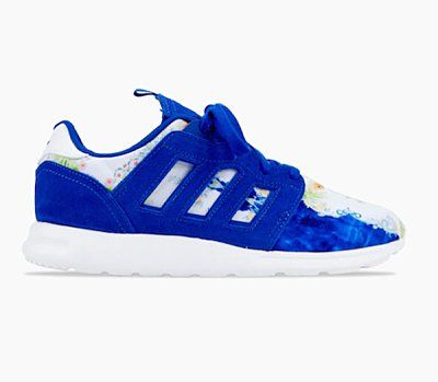 "Women's Adidas Originals ZX 500 II ""Floral Concept"" Shoes Collegiate Royal White M21254"