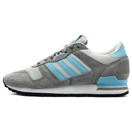 Men's Adidas Originals ZX 700 Shoes Grey/Blue M19393