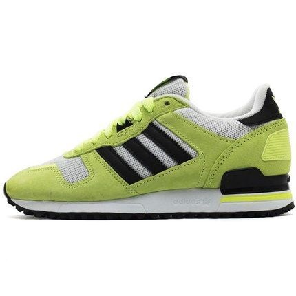 Men's Adidas Originals ZX 700 Shoes Fluorescent/Black/White M19394