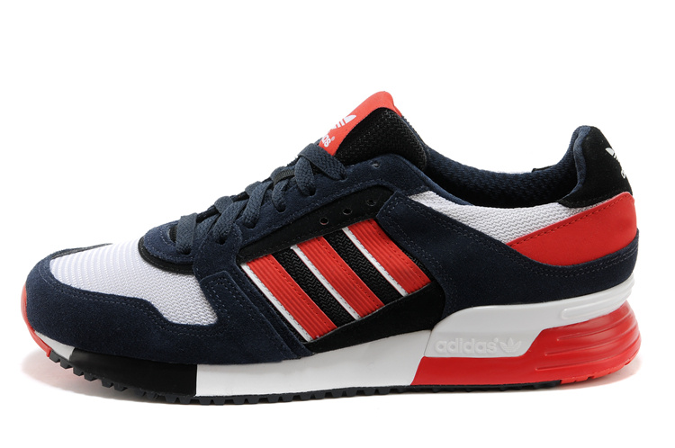 Men's Adidas Originals ZX 630 Shoes Legend Ink/Bright Red/Running White D67741