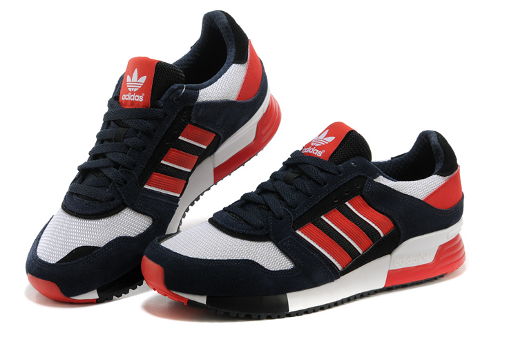 Men\'s Adidas Originals ZX 630 Shoes Legend Ink/Bright Red/Running White D67741
