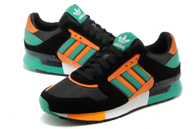 Men\'s Adidas Originals ZX 630 Shoes Black/Fresh Green/Carbon D67740