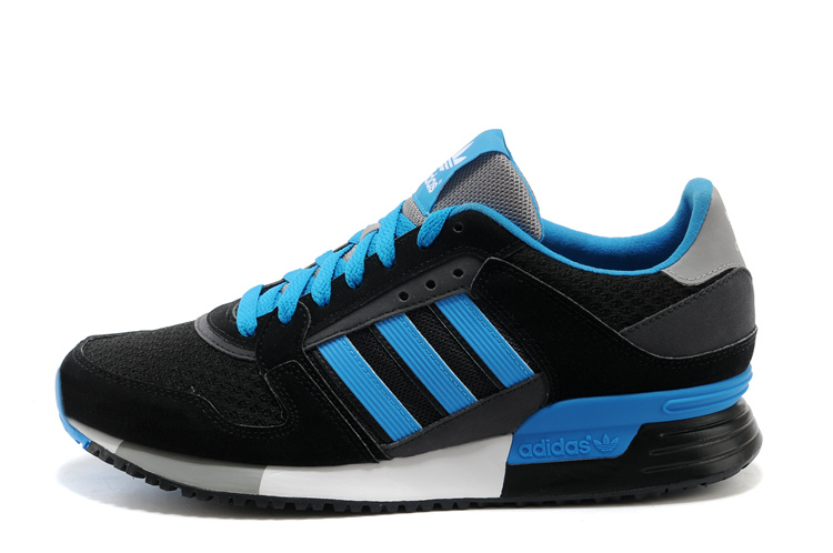 Men's Adidas Originals ZX 630 Shoes Black/Bluebird D67743