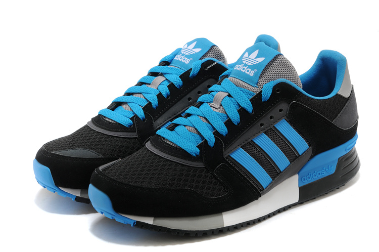 Men\'s Adidas Originals ZX 630 Shoes Black/Bluebird D67743